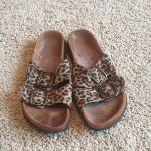 Shoes - Leopard Birkenstocks